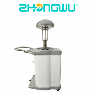 Pulsed light disinfection robot